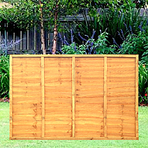 6ft X 4ft Lap Fence Panel